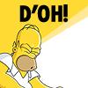 fueschgast: (reaction: D'oh! (Simpsons))