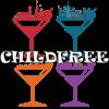 wolfpurplemoon: childfree community logo (childfree)