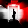 wehappyfew: © 𝓃𝑜𝓃𝑒𝓌𝓈𝓉𝑒𝓅𝓈   dexter. (♕ bloodslides ↬ dexter ( hallway ))