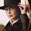 monanotlisa: Diana as Diana Prince in glasses and a hat, lifting the rim of the latter rakishly. HOT! (alexis! - ugly betty)