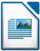 oceanandspace: the LibreOffice icon to represent a post about writing (writing libreoffice doc)