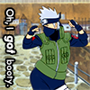 longlivehumour: Kakashi and his beautiful bottom (what) (kakashi)