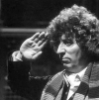 longlivehumour: Fourth Doctor saluting (fourth doctor)