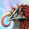 ghostwings: The head of Valefor, a summoned beast from Final Fantasy X (Final Fantasy)