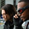 winterfalcon: Screenshot of Sam Wilson and Bucky Barnes in Captain America: Civil War (MCU Bucky/Sam)