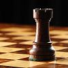 browncastle: black rook on chessboard (pic#11486061)
