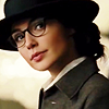 muccamukk: Close up Diana Prince, in hat and glasses. (WW: Disguise)