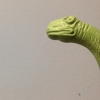 tycho_anomaly: 1950s green plastic brontosaurus poking its head in from stage left (Take Tht)