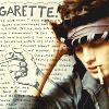 legrandjour: A man who is smoking  (Garrette)