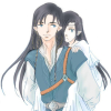 utulien_aure: Fingon and young Aredhel (little sister)