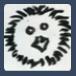 cyanmnemosyne: Hand-drawn picture of Kemari, a small fluffy youkai from Natsume Yuujinchou (kemari)