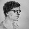 khalaris: drawn self-portrait (Default)