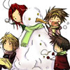 kansouame: (Saiyuki Snow fight)
