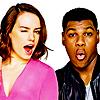 neonbliss: Peanuts1: John Boyega & Daisy Ridley (Ooo peanut!!!)