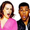 neonbliss: Peanuts1: John Boyega & Daisy Ridley (Default)