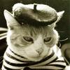bubastis: (beatnik cat)
