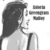 "eldabe: A picture of Astoria Greengrass, smiling. The words ""Astoria Greengrass Malfoy"" are displayed. (Astoria)"