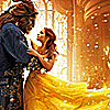 jedibuttercup: Beauty dancing with the Beast (belle and adam)