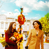 anoyo: Rory & Lorelai walking in Stars Hollow (gg rory lorelai)