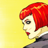 aurumcalendula: Kate Kane looking over her shoulder (Kate Kane)