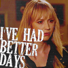 aurumcalendula: Parker with text 'I've had better days' (Better Days)
