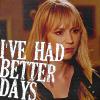aurumcalendula: Parker with text 'I've had better days' (Better Days)