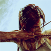 aurumcalendula: Lara with a bow (Lara)
