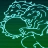 quandary_lions: A console image of a double-headed lion eating a sun. (Default)