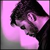 highlander_ii: profile of Chris Pine tinted bright purple ([ChrisP] puple)