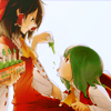 needles: (reimu hakurei and yuuka kazami; touhou project) (satisfaction feels like a distant memory)