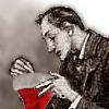 muccamukk: Holmes examines a Santa hat. (SH: Christmas Hat)