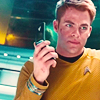 tarotgal: (Star Trek: Kirk with communicator)