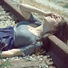 viridescence: (Emotion: laying on the track)