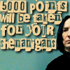 reijamira: ([HP] Snape 5000 points for shenanigans)
