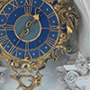 hexarchate_rpg: clock face in blue and gold (hxx clock)