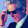 sunlit_stone: a snazzy twelfth doctor in sunglasses (cool)