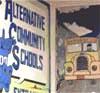 rabbitica: sign saying alternative community school (ACS)
