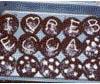 rabbitica: cupcakes spelling out i heart rebecca (i heart rebecca)