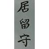 "irusu: ""Irusu"" written in kanji (Default)"
