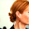 daphnie_1: Pepper Potts looking off icon. (Marvel | Pepper | Anxcous)