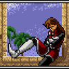 coprime: Alys lounging in a window because she has been there, done that (Alys lounge)