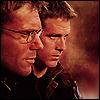 colonelsandgeeks: Cameron Mitchell and Daniel Jackson (Cameron and Daniel)