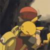 secretlyaketchum: Screenshot of Episode 1 of Pokémon Generations (with haxchu, with derpchu, with thora, with taranis)