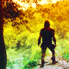 purplecat: Robin of Loxley looking out over Sherwood in Robin of Sherwood (Robin of Sherwood, Robin of Sherwood:Will)