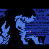 purplecat: Spike from the Title sequence for Cowboy Bebop (Cowboy Bebop)
