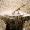 blindmadness: (scene: sundial in the rain)