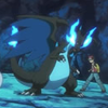secretlyaketchum: From the Pokémon Origins anime. (mega evolution, mega charizard x)
