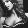 sarcasticsra: A picture of Jill Wagner in black and white. (corlionis: isabella (black and white))