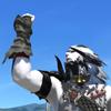 unends: (hand up)