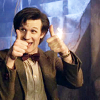 dulcinea: Cap of the Eleventh Doctor giving the thumbs up ([DW] Thumbs up A+)